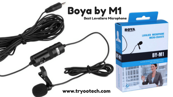 Best Lav Microphone To Record YouTube Videos, Audio With Smartphones & DSLR – BOYA BY M1