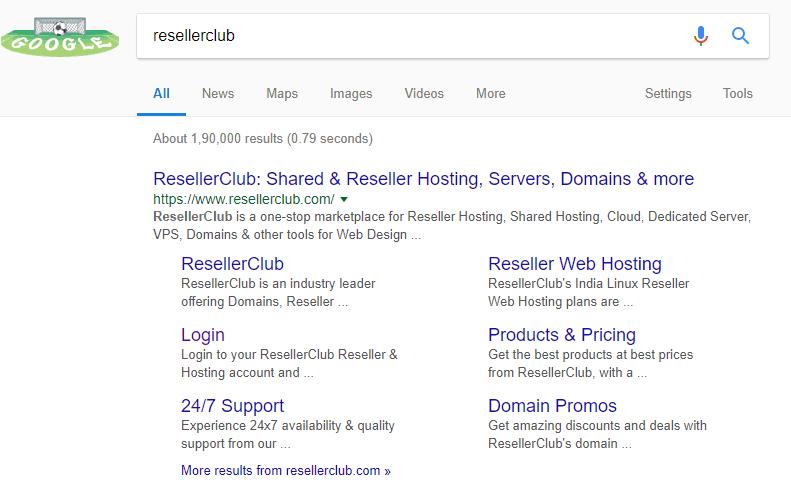 reseller club hosting