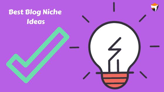 blog niche list