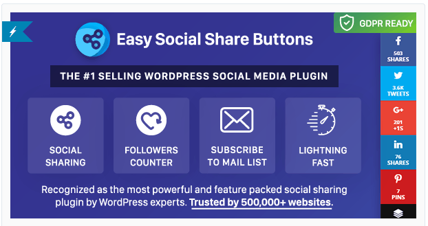 easy social share buttons