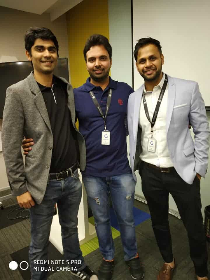 Amit Mishra blogger with Gaurav Gurbaxani