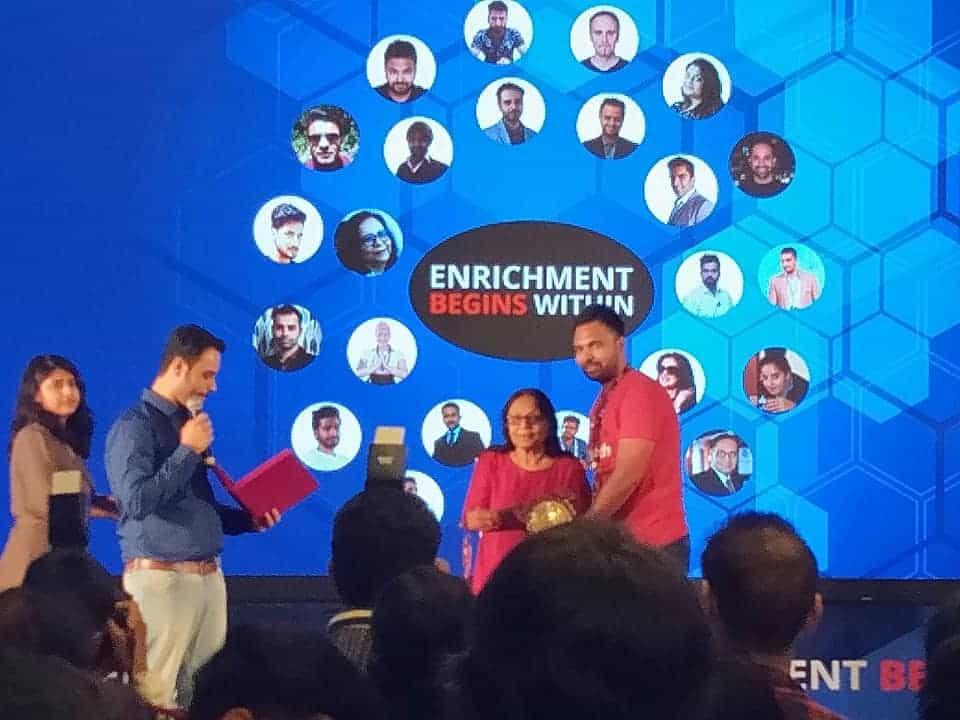 Enrichment begins within Event Amit Mishra blogger youtuber tryootech