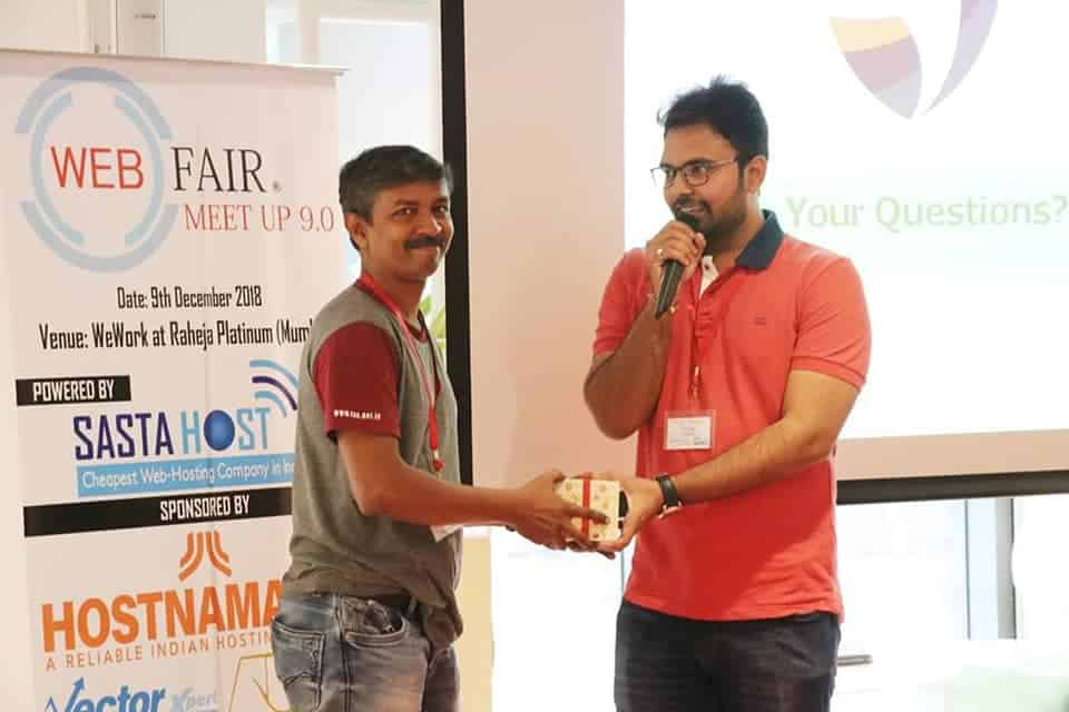 webfair Amit Mishra blogger youtuber mumbai speaker