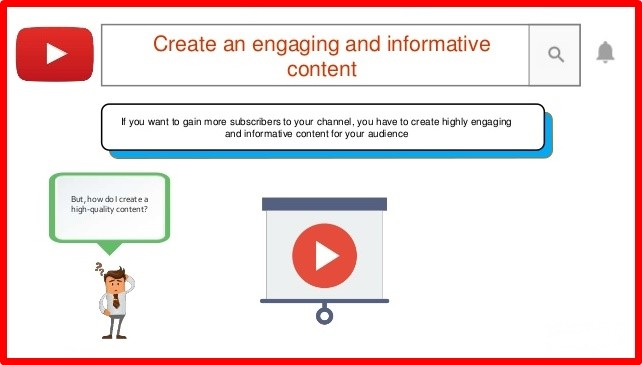 create high engaging content on Youtube