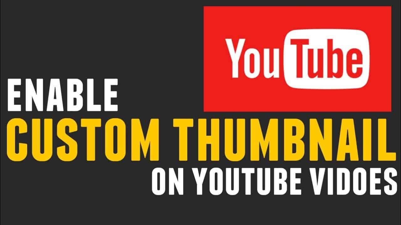 custom thumbnails on YouTube