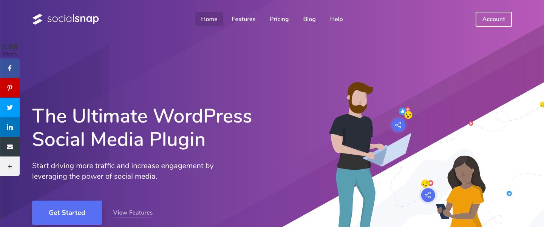 socialsnap wordpress plugin