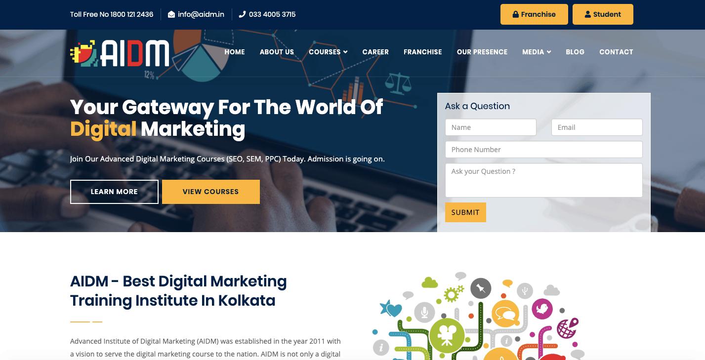 Advanced Institute of Digital Training kolkata