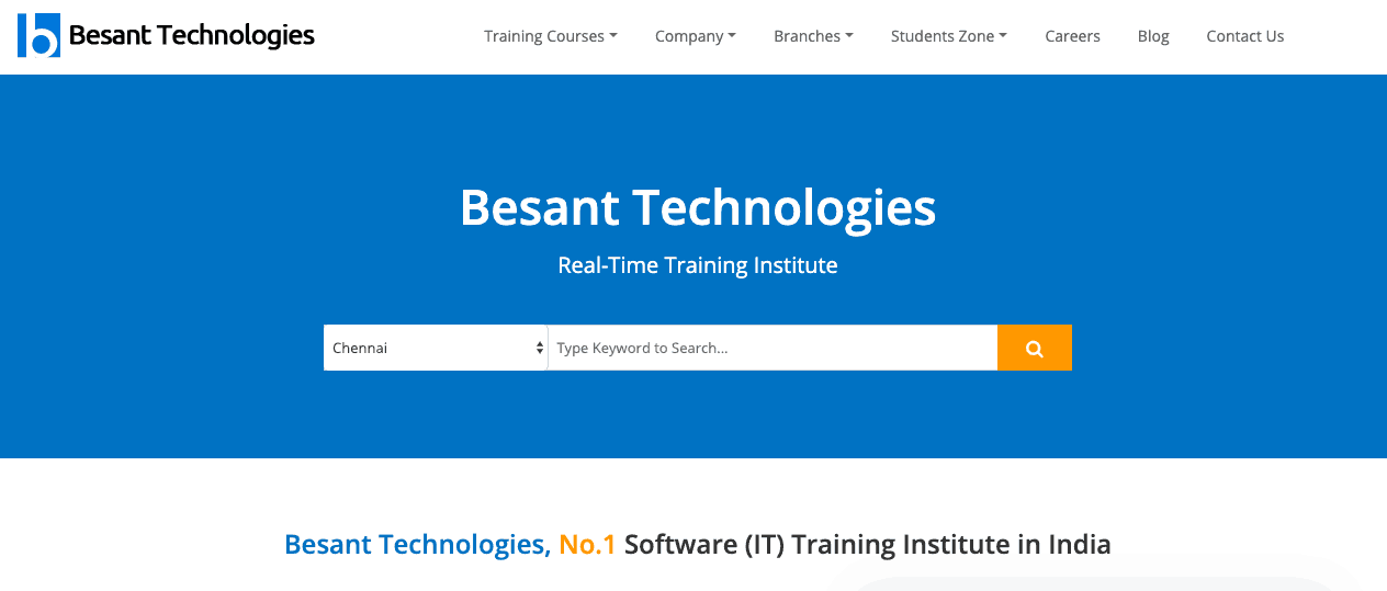 Besant Technologies digital marketing institutes in bangalore