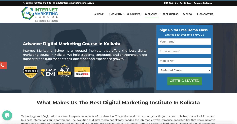 Internet Marketing School kolkata