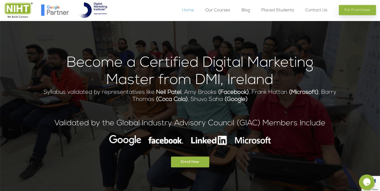 NIHT digital marketing