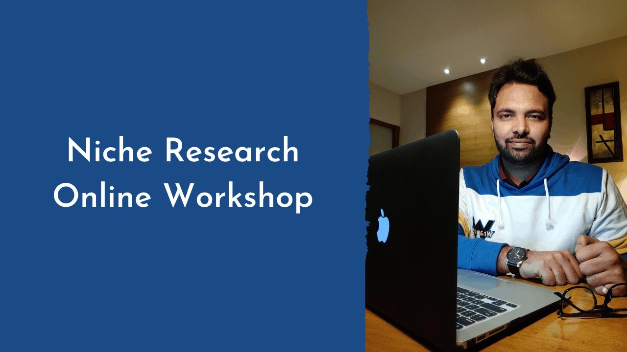 Niche Research Online Workshop (1)