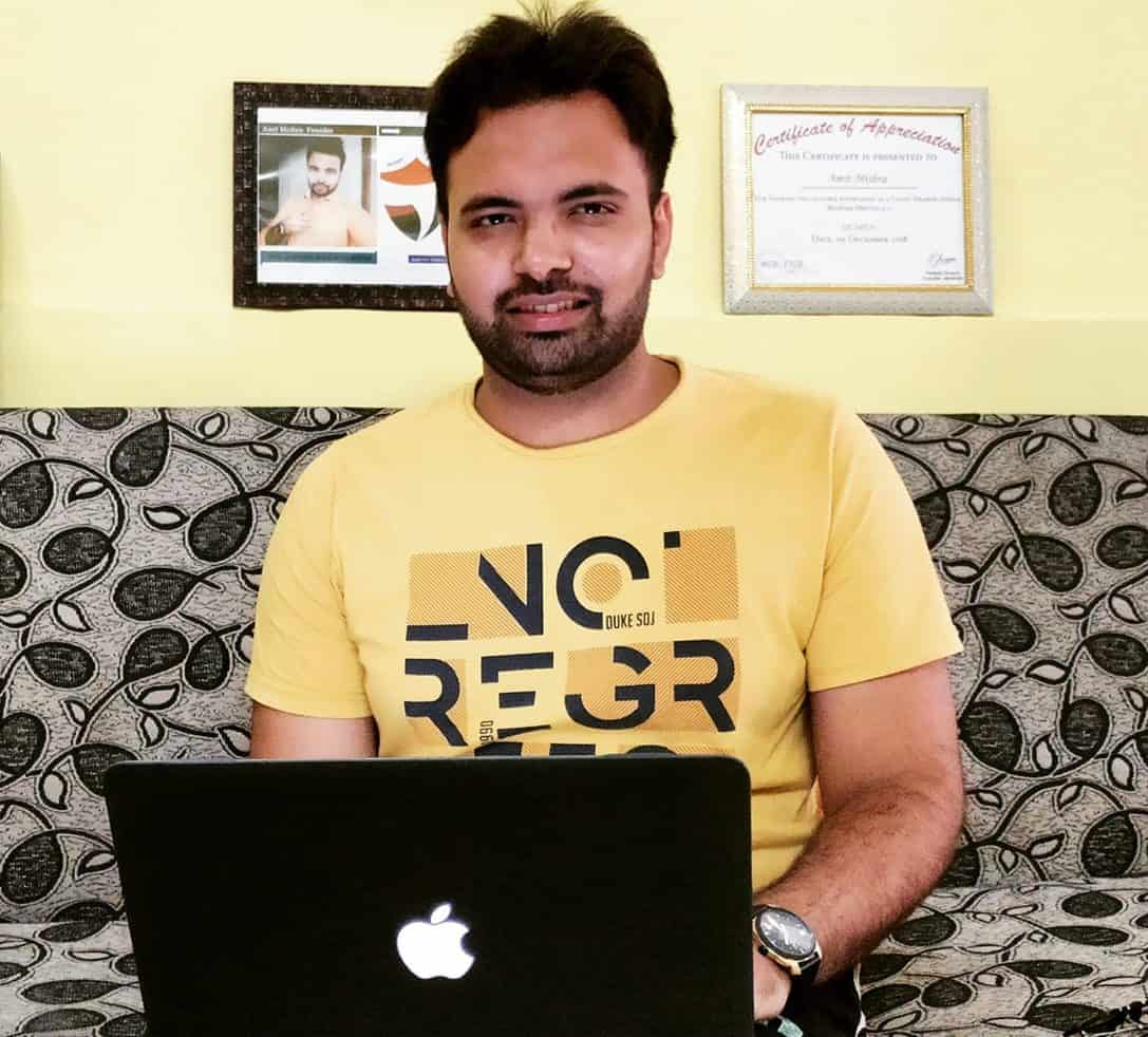 Amit Mishra Youtuber Blogger tryootech