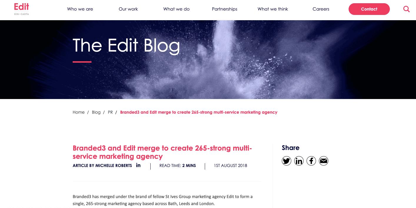 Branded3 Blog Edit