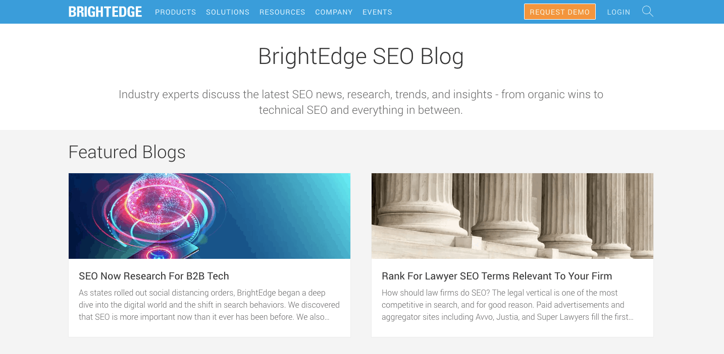 BrightEdge Blog