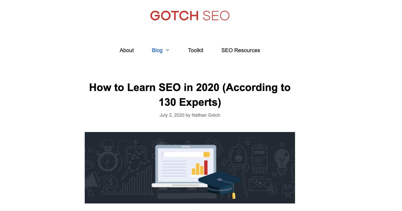 GotchSEO Blog