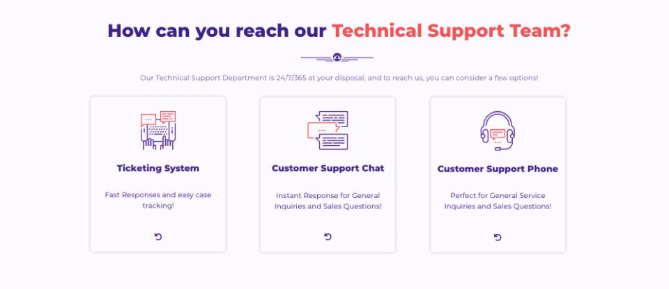 Hostarmada support system